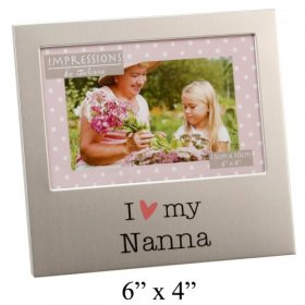 "Juliana Aluminium Photo Frame 4"" x 6"" - Nanna"